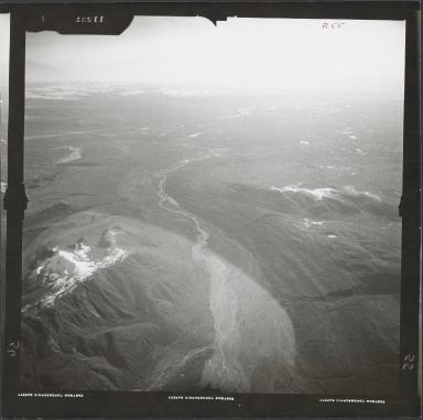 Tokositna Glacier, aerial photograph FL 59 R-55, Alaska