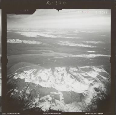 Tokositna Glacier, aerial photograph FL 59 R-69, Alaska