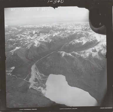 East of Two Lakes, aerial photograph FL 68 R-33, Alaska