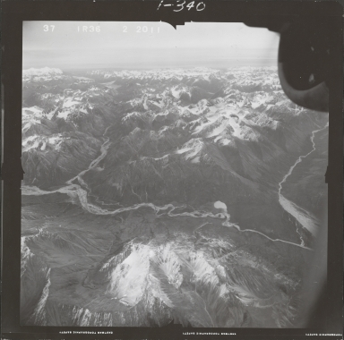 Two Lakes, aerial photograph FL 68 R-36, Alaska