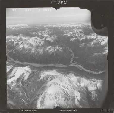 Two Lakes, aerial photograph FL 68 R-39, Alaska