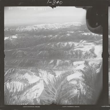 Mount Spurr, aerial photograph FL 68 R-60, Alaska