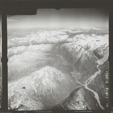 Umbrella Glacier, aerial photograph FL 72 R-12, Alaska