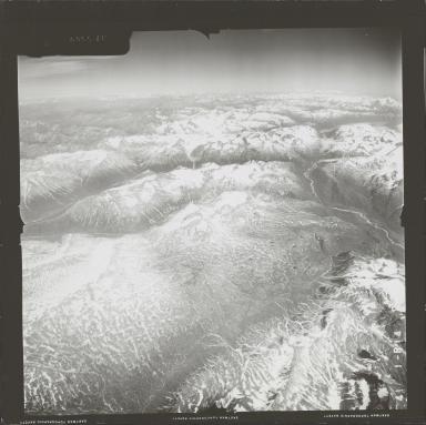 Iliamna Volcano, aerial photograph FL 72 R-14, Alaska