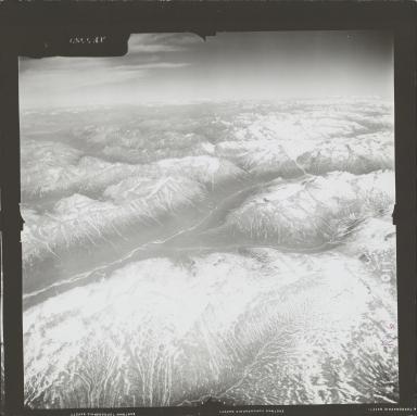 Iliamna Volcano, aerial photograph FL 72 R-16, Alaska