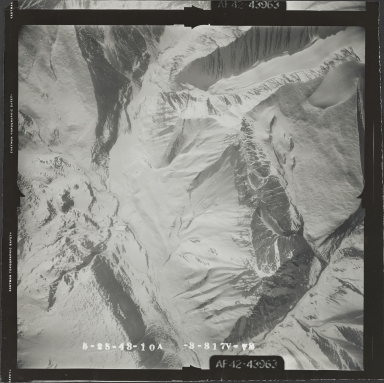 McCall Glacier, aerial photograph FL 103 V-73, Alaska