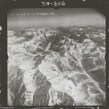 McCall Glacier, aerial photograph FL104 L-61, Alaska