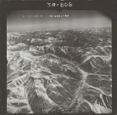 McCall Glacier, aerial photograph FL104 L-67, Alaska
