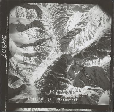 McCall Glacier, aerial photograph FL 104 V-60, Alaska