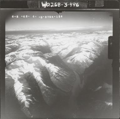 Aerial photograph FL 116 R-126, Alaska
