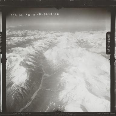 Aerial photograph FL 119 R-32, Alaska