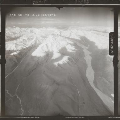 Gerstle River, aerial photograph FL 119 R-6, Alaska