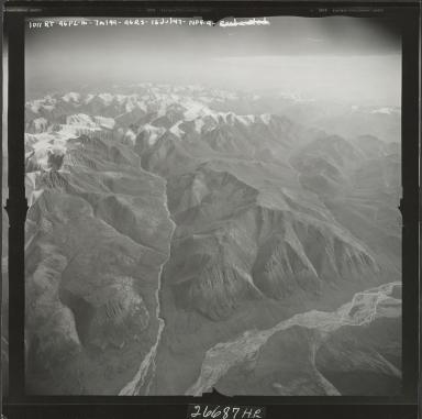 Mount Michelson, aerial photograph M 144 1018RT, Alaska