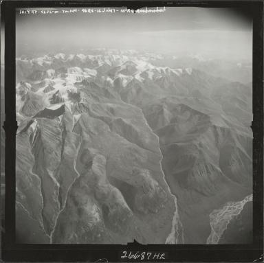 Mount Michelson, aerial photograph M 144 1019RT, Alaska