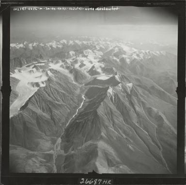Mount Michelson, aerial photograph M 144 1021RT, Alaska