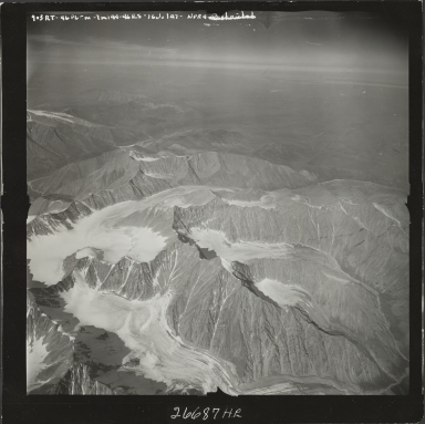 Unknown glacier, aerial flight M 144 903RT, Alaska