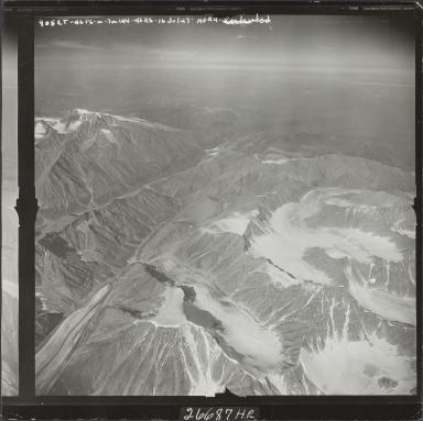 Unknown glacier, aerial flight M 144 905RT, Alaska