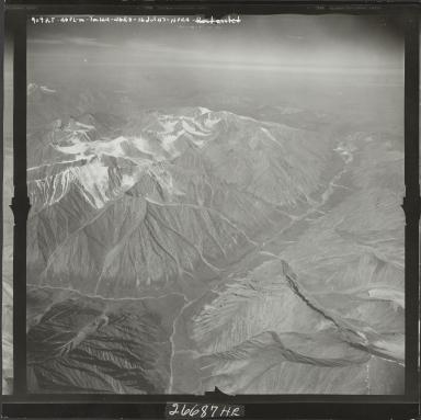 Okpilak Glacier, aerial photograph M 144 909RT, Alaska