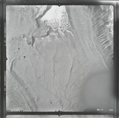 Mount Sanford, aerial photograph GUL 8-098, Alaska