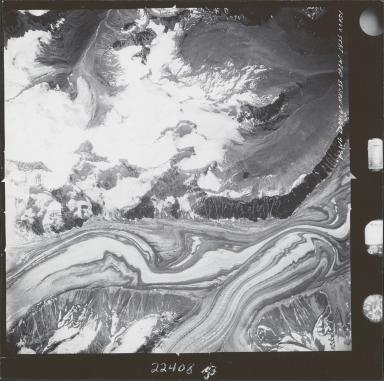 Susitna Glacier, aerial photograph M 860 156, Alaska