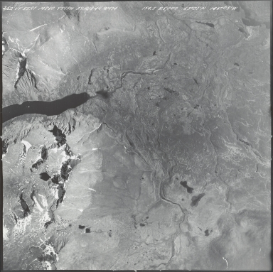 Mount Hayes area, aerial photograph M 860 252, Alaska