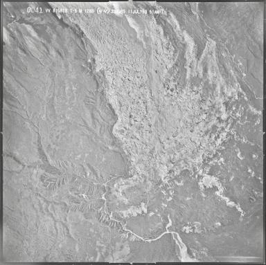 Ruth Glacier, aerial photograph M 128B 41, Alaska