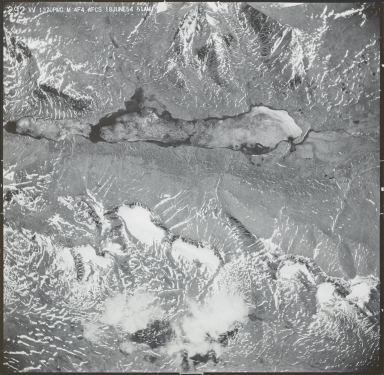 Mount Hayes area, aerial photograph M 4F4 292, Alaska