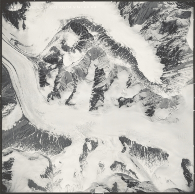 Eldridge Glacier, aerial photograph M4 G13 28, Alaska
