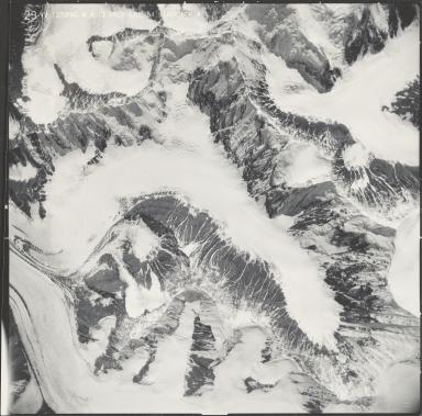 Eldridge Glacier, aerial photograph M4 G13 29, Alaska
