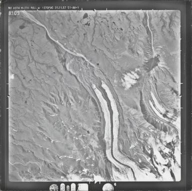 Long Glacier, aerial photograph M 231 8100, Alaska