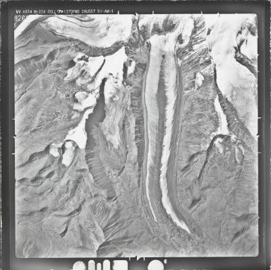 Drop Glacier, aerial photograph M 234 9260, Alaska