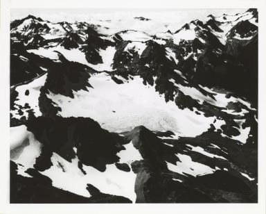 Glacier south of Mount Ferry, Washington