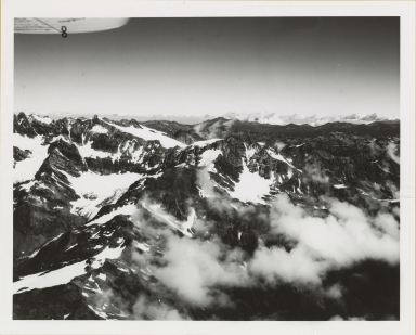 Hubert Glacier and Jeffers Glacier, Washington