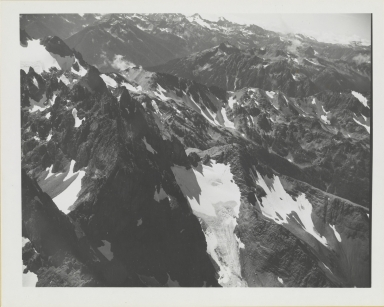 Unknown glacier, Mount Deception, Washington