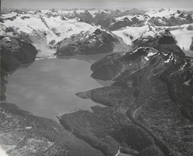 Unknown glacier, Garibaldi Lake, British Columbia