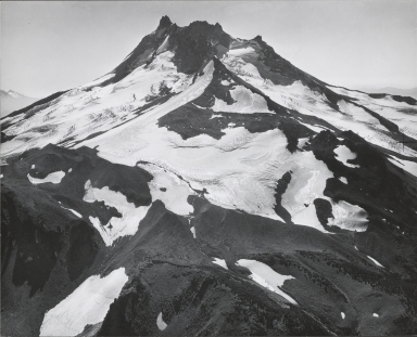 "Unknown glacier (""Far North Glacier"") near Mount Jefferson, Oregon"