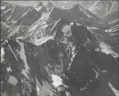 Unknown glacier near Emerald Peak, Washington