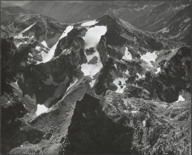 Unknown glacier on Cardinal Peak, Washington