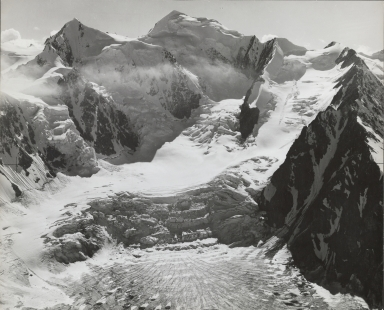 Black Rapids Glacier, aerial photograph roll no. 6 exposure no. 73, Alaska