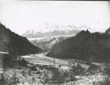 Unknown glacier, Alaska and/or British Columbia