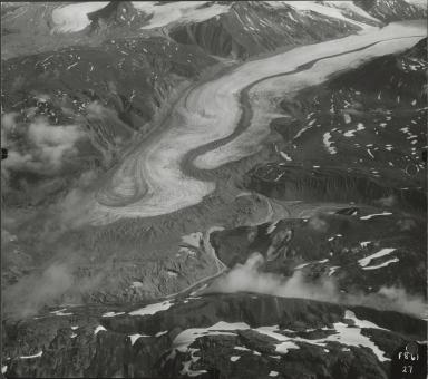 Tikke Glacier, aerial photograph F8 27, British Columbia