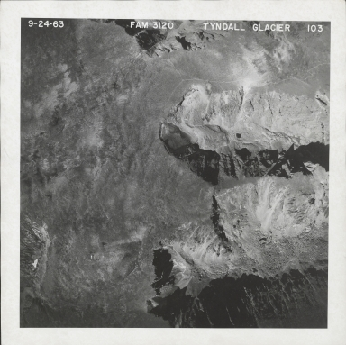 Tyndall Glacier, aerial photograph FAM3120-103, Colorado