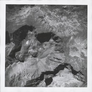 Saint Vrain Glacier, aerial photograph FAM 3120 16, Colorado