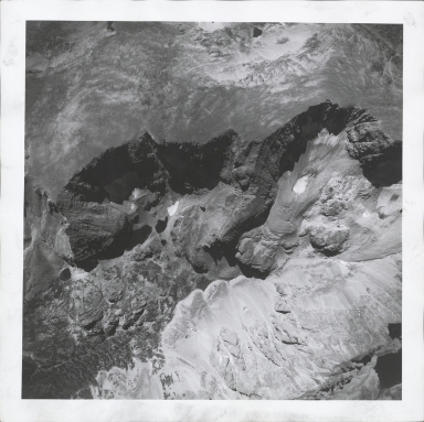 Saint Vrain Glacier, aerial photograph FAM 3120 18, Colorado