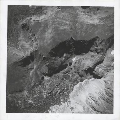 Saint Vrain Glacier, aerial photograph FAM 3120 19, Colorado
