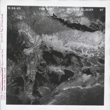 Moomaw Glacier, aerial photograph FAM 3120 97, Colorado