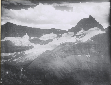 Unknown glacier, Brown Pass, Montana