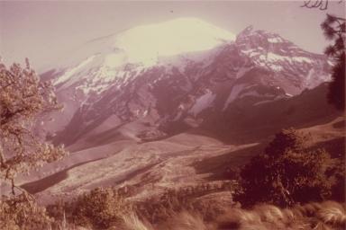 Ventorrillo Peak, left panorama, Mexico