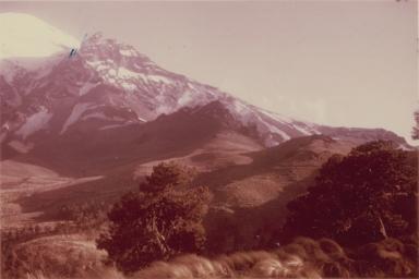 Ventorrillo Peak, right panorama, Mexico