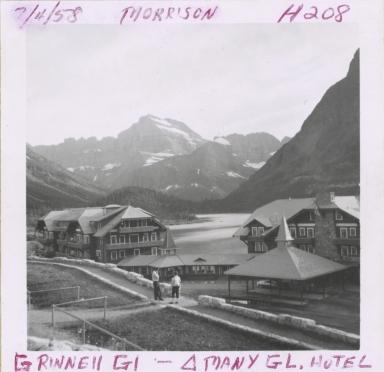 Many Glacier Hotel, Grinnell Glacier, Montana